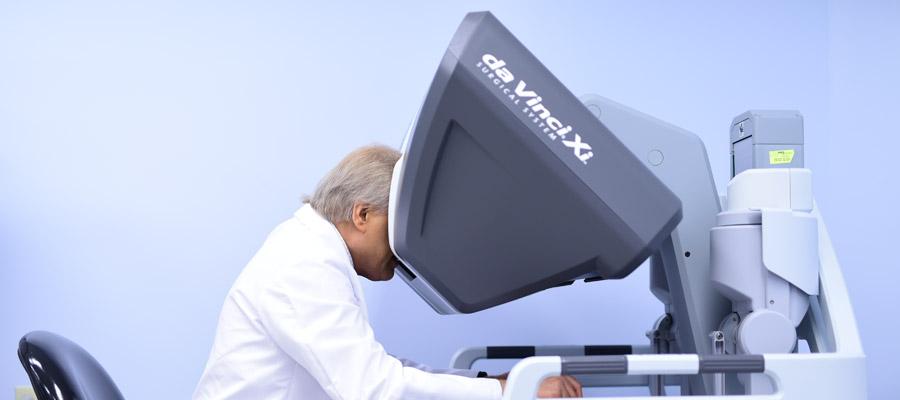 control de la vejiga después de una cirugía robótica de próstata